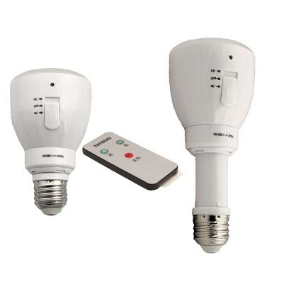 Infrared Remote controlled and Multi-functional bulb 4W