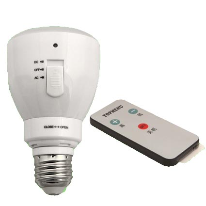Infrared Remote controlled and Multi-functional bulb 3W