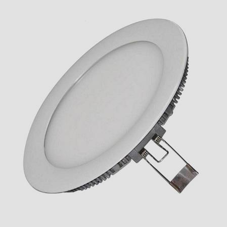 12W LED round panel light