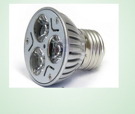 E27 BASE 3*1W LED SPOTLIGHT